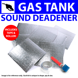 Heat & Sound Deadener Early Triumph 1946 - 54 Gastank Kit + Tape, Roller 7644Cm2 - Part Number: ZIR79EF6