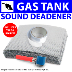 Heat & Sound Deadener Triumph TR2, 3 53 - 61 Gastank Kit + Tape, Roller 7626Cm2 - Part Number: ZIR79EF5
