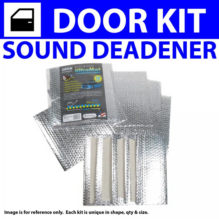 for 94-02 Dodge Truck ~ Floor Kit Zirgo 314622 Heat and Sound Deadener