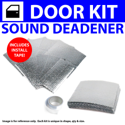 Heat & Sound Deadener Ford Mustang 1979 - 1993v 4 Door Kit + Seam Tape 19350Cm2 - Part Number: ZIR79D45