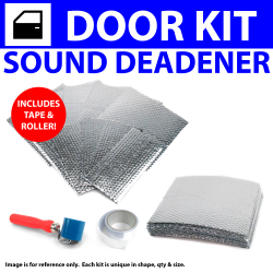 Heat & Sound Deadener Early Triumph 1946 - 54 4Dr Kit + Tape, Roller 22932Cm2 - Part Number: ZIR79E86