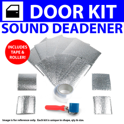 Heat & Sound Deadener Camaro 1967 - 69 4 Door Kit + Seam Tape, Roller 18126Cm2 - Part Number: ZIR79DF9
