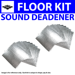 Heat & Sound Deadener for 40-46 Chevy Truck Floor Kit 2782cm2 - Part Number: ZIR76340