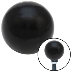 2 Inch Black Old Skool Series Custom Shift Knob - Part Number: ASCSN08001