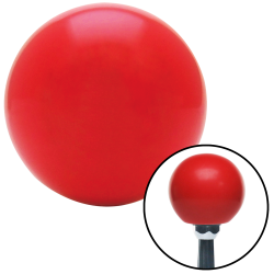 2 Inch Red Old Skool Series Custom Shift Knob - Part Number: ASCSN08003
