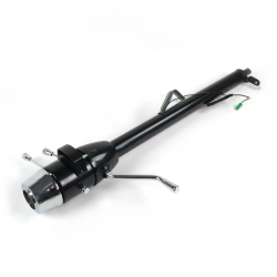 "33"" Paintable Steering Column ~ Column Shift with 6 Hole Wheel Adapter - Part Number: HEX7AD33"