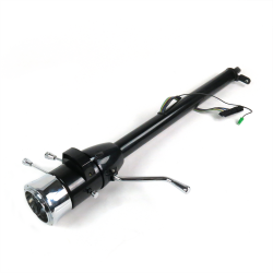 "33"" Paintable Steering Column ~ Column Shift with 9 Hole Wheel Adapter - Part Number: HEX7AD3B"