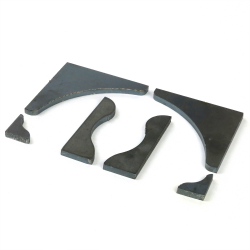Crossmember Bracing Kit ~ 1 Pair - Part Number: HEXCSUP