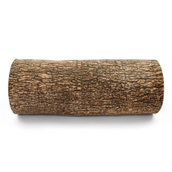 Pine Log Throw Pillow - Part Number: VPATIKI04