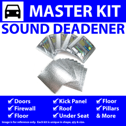 Heat & Sound Deadener for 00-04 Neon Master Kit 11645cm2 - Part Number: ZIR764E9