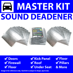Heat & Sound Deadener for 69-77 Comet Master Kit 14397cm2 - Part Number: ZIR765C9