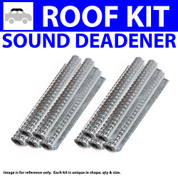 Heat & Sound Deadener for 37-38 Mopar Headliner Roof Kit 1097cm2 - Part Number: ZIR76232