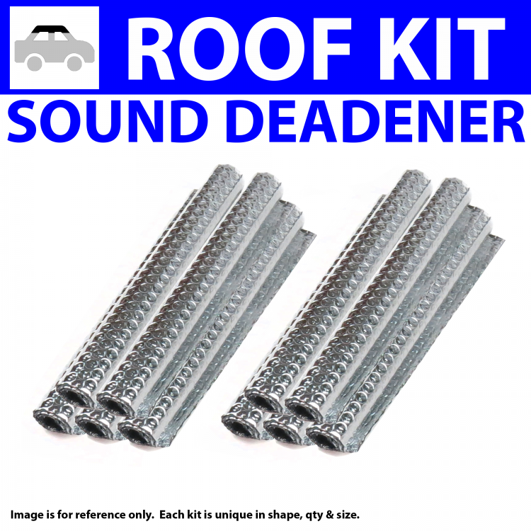 Zirgo 314192 Heat and Sound Deadener for 37-38 Mopar ~ Headliner Roof Kit