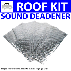 Heat & Sound Deadener for 82-89 Cadillac Headliner Roof Kit 1070cm2 - Part Number: ZIR762B7