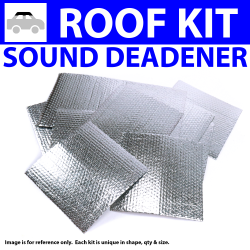 Heat & Sound Deadener for 87-99 C10 Truck Headliner Roof Kit 1142cm2 - Part Number: ZIR764FC