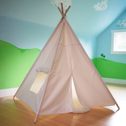 Off White Kids Teepee Tent Playhouse - Part Number: VPATP01