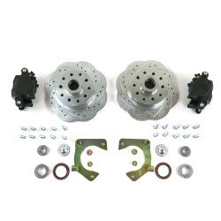 Mustang II 11inch High Performance Big Brake Conversion 5x4.75 - Part Number: HEXBK13