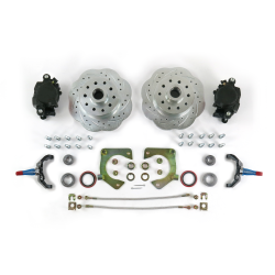 "Mustang II 11"" Disc Brake Kit 5x4.75"" with 2"" Drop Spindle Big Brakes  - Part Number: HEXBK24"