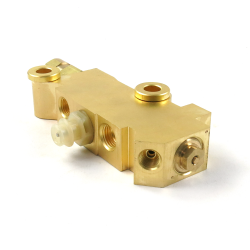 Helix Brass Disc Drum Proportioning Valve - Part Number: HEXPV3
