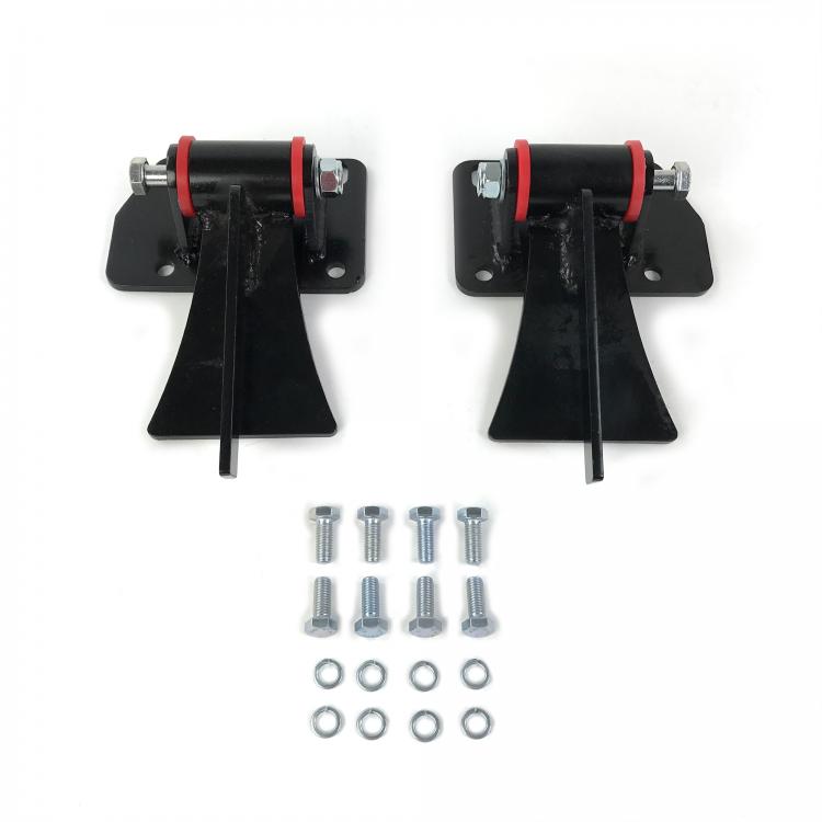 Helix 315552 Chevy LS Series Weld in Motor Mount Set Engine /& Frame Brackets