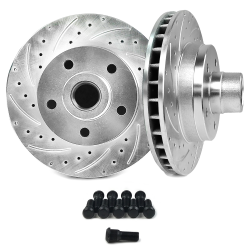 60-87 Chevy C10 Truck Disc Brake Conversion Rotor - 5x5 - Part Number: HEXBR20