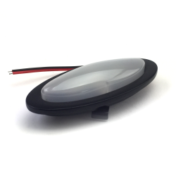 LED Billet Interior Courtesy / Map / Dome Light - Black - Part Number: AUTBWDLBK