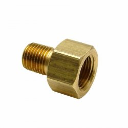 Reducer Air Fitting - 1/4 NPT x 3/8 NPT Female - Part Number: HEXAFI14NX38F