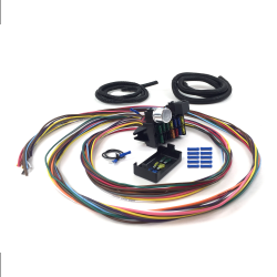 Ultimate 12 Fuse '12v Conversion' Wire Harness  32 1932 Model B Phaeton - 2-door, 4-door