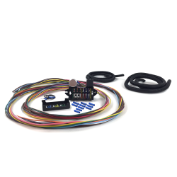 Ultimate 12 Fuse '12v Conversion' Wire Harness  31 1931 Model A Coupe - Business, Standard, Deluxe, Sport