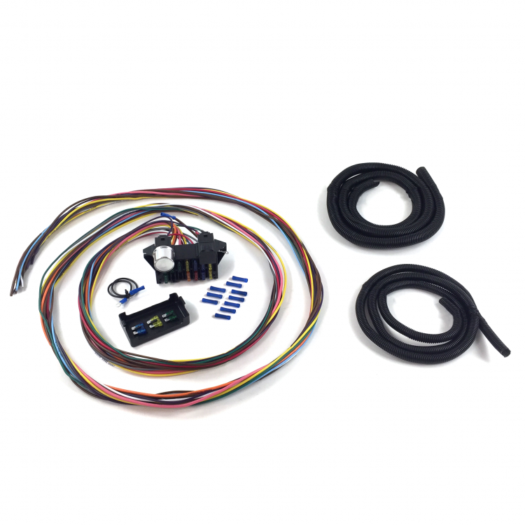 Ultimate 12 Fuse '12v Conversion' Wire Harness 46 1946 Ford Pickup - Truck,  Panel | johnnylawmotors.comJohnny Law Motors