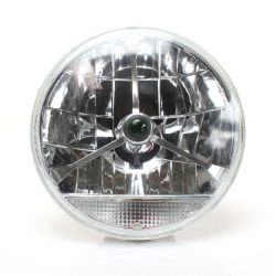Mustang Tribar Lens Assembly with Clear Turn Signal - Part Number: AUTLENG2A