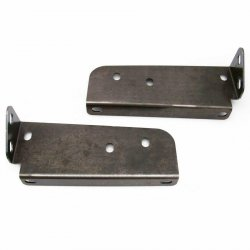 62-65 Nova Hood Support - Pair - Part Number: HEXBRK043