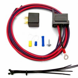 Electric Fan Relay Kit with Plug n Play Harness - Part Number: ZIRZFRAS