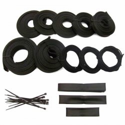 Ultra Wrap Fuel Injection Engine Harness Loom Kit - Part Number: KICWFAK2