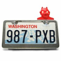 license plate bolts, license plate frames, license plate toppers