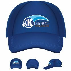 Keep It Clean Wiring Logo Baseball Cap - Part Number: KICPROB001