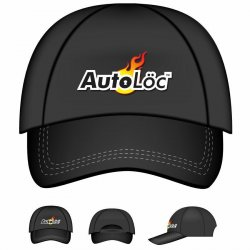 Autoloc Logo Baseball Cap - Part Number: AUTPROB001