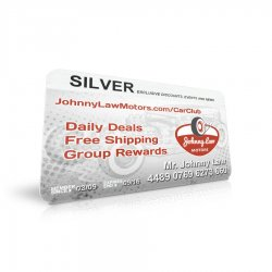 Johnny Law SILVER Car Club Annual Membership - Part Number: JLMCARCLUBS
