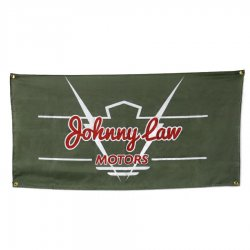 "24"" X 48"" Johnny Law Horizontal Color Banner - Part Number: JLMPROJ001"