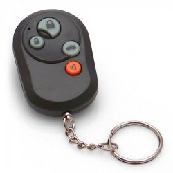 4 Button Remote with Keychain - Part Number: AUTTR4