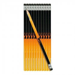Hot Rod Flame Pencil ~ Each - Part Number: VPAGFT001