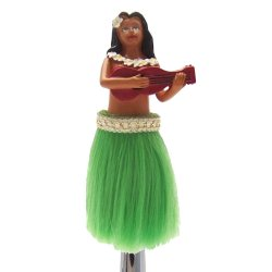 LaiLai the Hula Girl Custom Shift Knob - Part Number: ASCSN00035