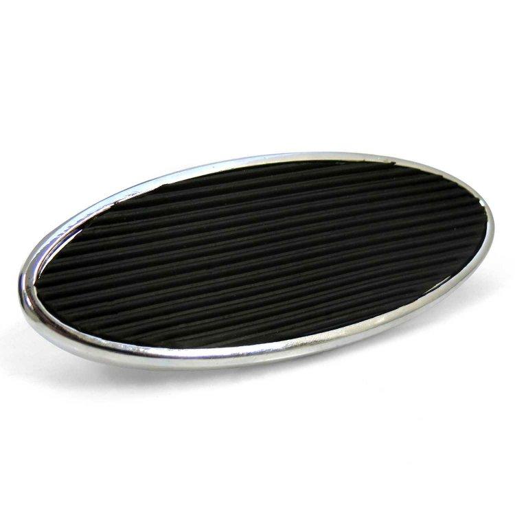 Billet Polished Aluminum Floor Mount Gas Throttle Pedal Chevy Ford Mopar SBC 350