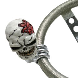 Munch Skull Suicide Brody Knob - Part Number: ASCBN00028