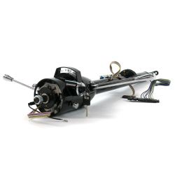 "Helix 33"" Black Steering Column Automatic with Built in Ignition Switch - Part Number: HEXSTCOLK1B"