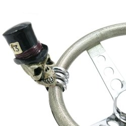 Timmy the Top Hat Skull Custom Brody Knob - Part Number: ASCBN00022