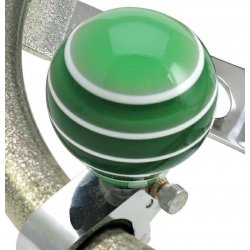 Green Super Stripe Adjustable Suicide Brody Knob - Part Number: ASCBA01003