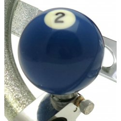 2 Ball Billiard Pool Adjustable Suicide Brody Knob - Part Number: ASCBA03002