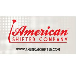 "24"" X 48"" American Shifter Company Logo Color Banner - Part Number: ASCPROA001"