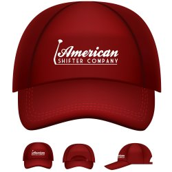 American Shifter Logo Baseball Cap - Part Number: ASCPROB001